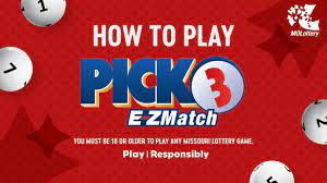 The Pick 3 Lottery Is An Easy Game To Play!